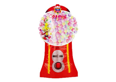 Flexible packaging shaped snack pouch with customized printing for christmas