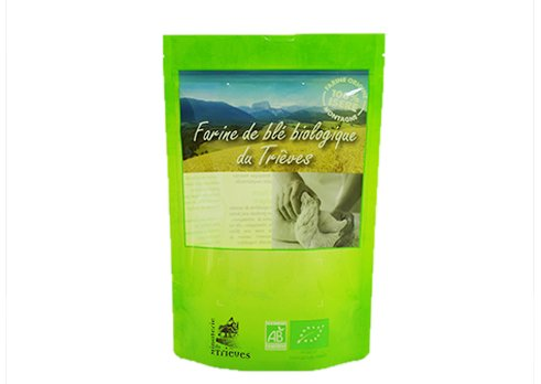 flexible packaging stand up window pouch with resealable zipper with customized printing