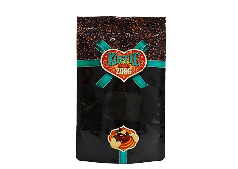 flexible plastic packaging pouches Custom printed stand up ziplock coffee bags with valve