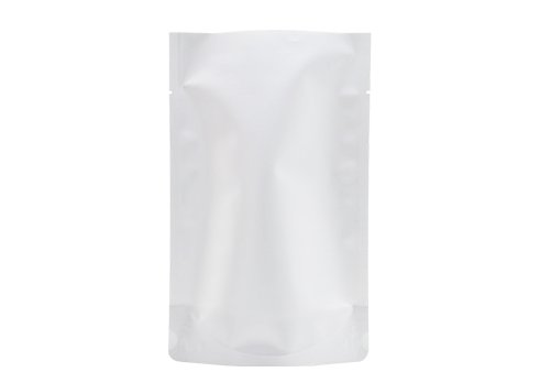 flexible plastic packaging pouches with white printing stand up barrier pouch