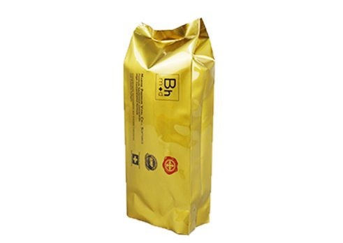 side gusset flexible plastic packaging bagd with Gold matte printed