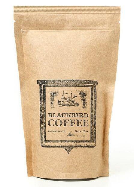kraft paper coffee bag