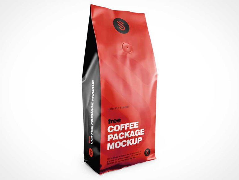 sealed coffee bag