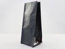 3-laminated plastic flat bottom pouch bag