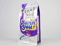 6-aluminum laminated flat bottom plastic flat bottom pouch bag for dog food