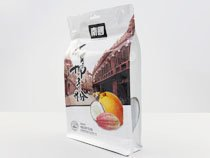 7-laminated flat bottom pouch bag for food