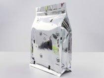 8-aluminum laminated flat bottom plastic flat bottom pouch bag