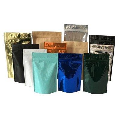 Plain plastic pouch bags wholesale