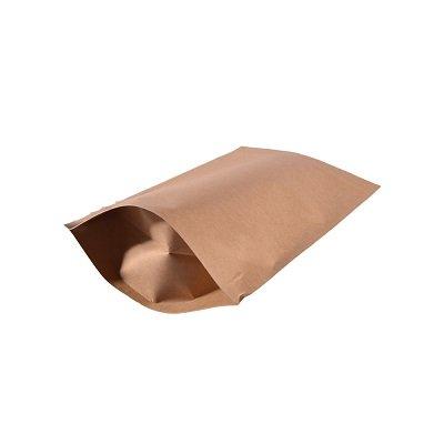 Recyclable plain paper pouch bag