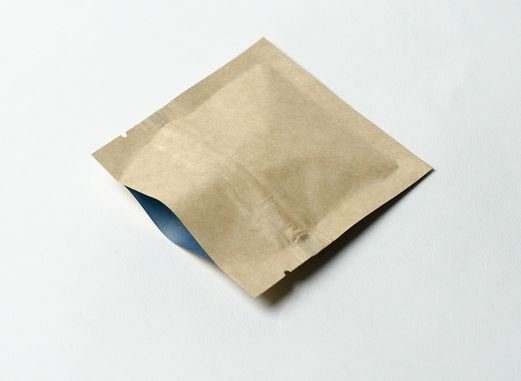 Compostable flat pouch packaging