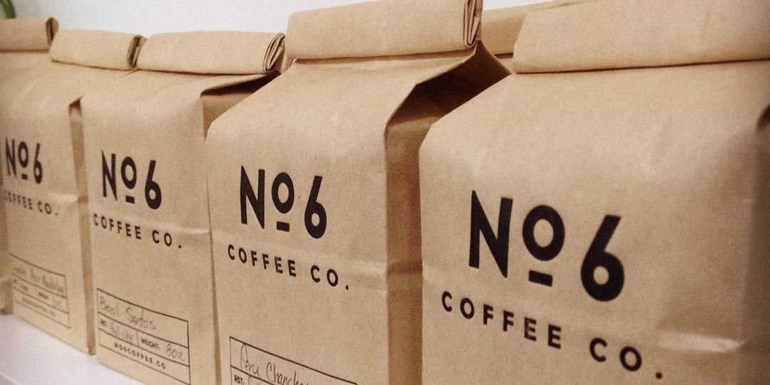 Hot stamp coffee bag