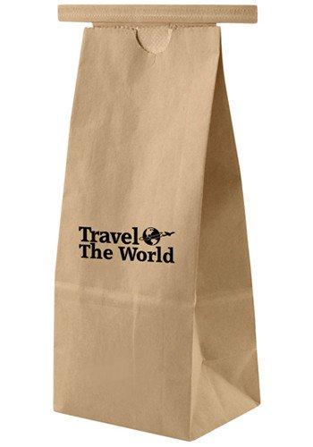 Kraft coffee bag