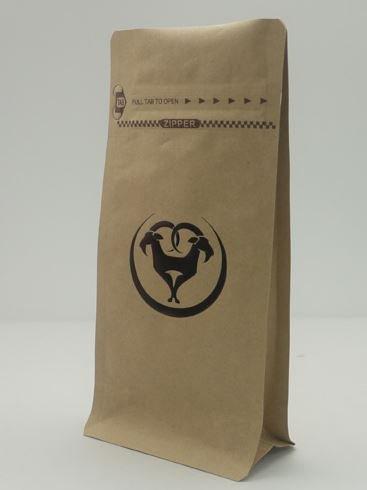 custom hot stamp coffee bag