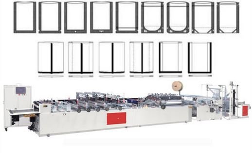 Manufacturing 3 side seal pouch machine