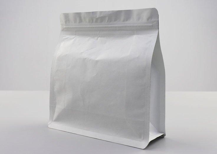 Aluminum foil quad seal bags