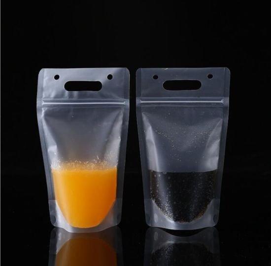 juice pouches with ziplock closure