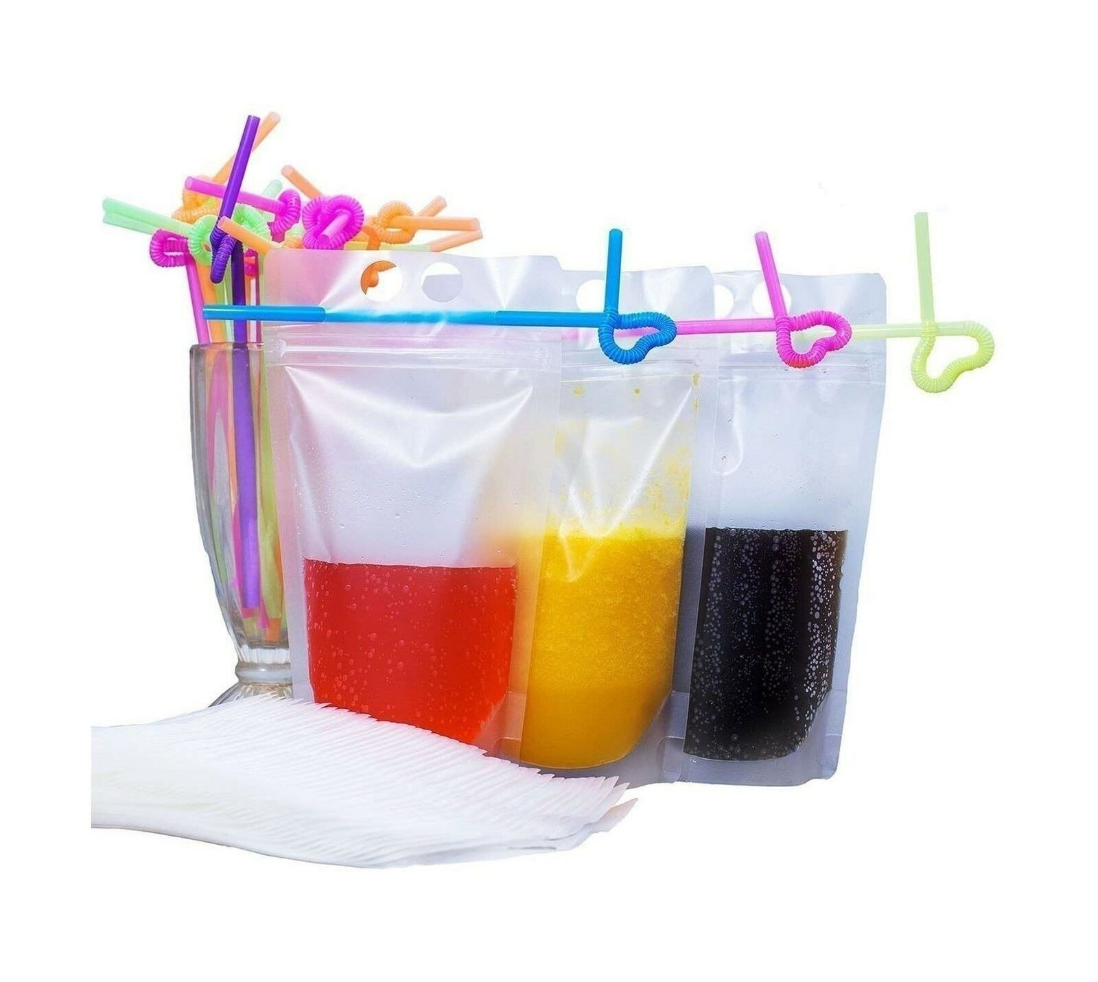 reusable pouches with ziplock
