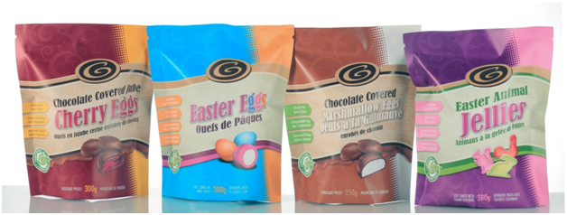 Compostable and biodegradable stand up pouches