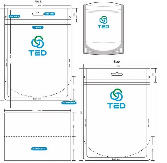 Stand-up pouch design