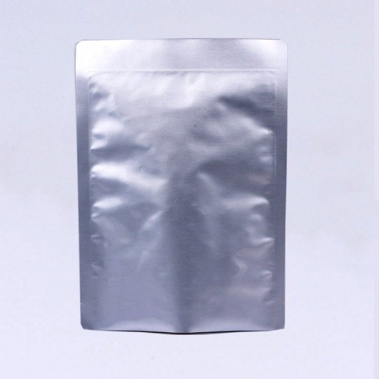 kraft metallized flat pouch
