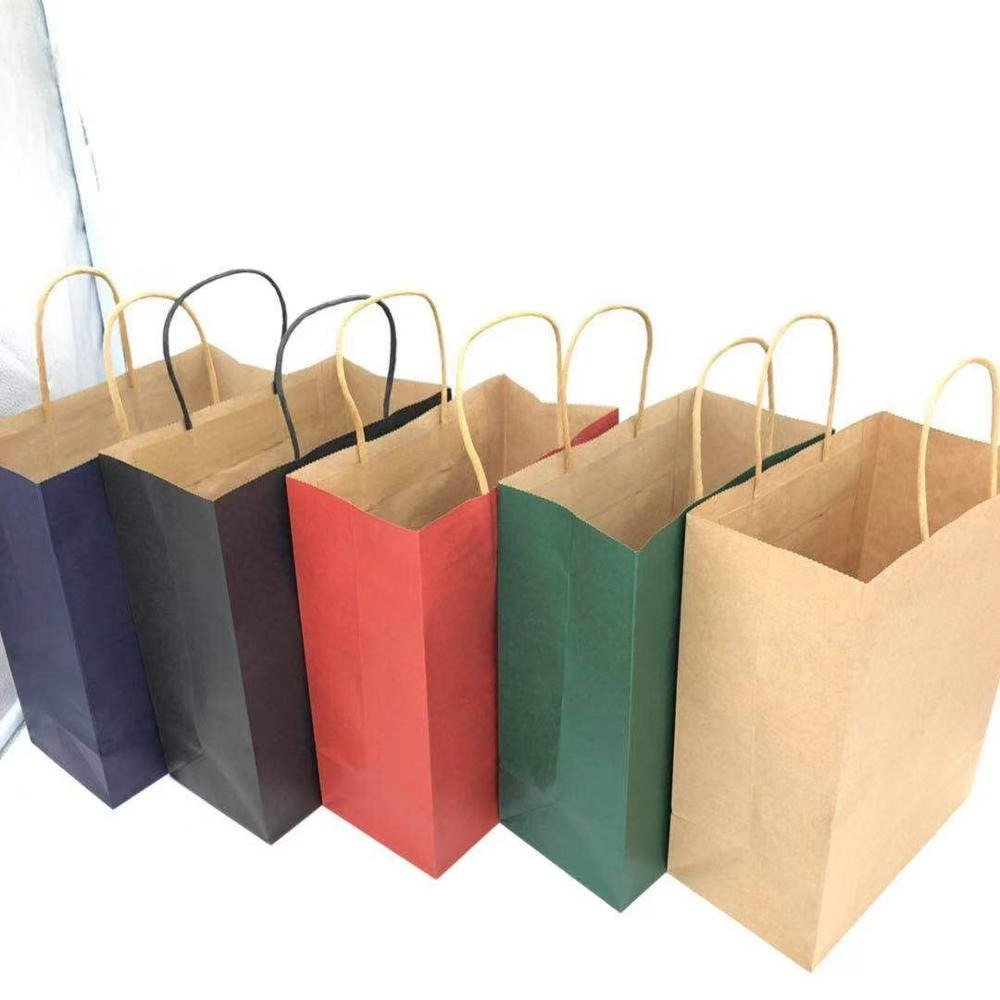 available colours of kraft paper pouches