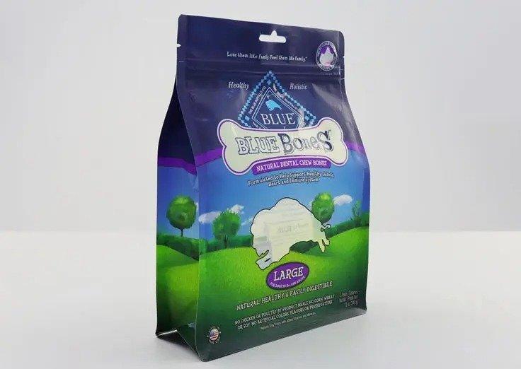 quad seal pet food bag